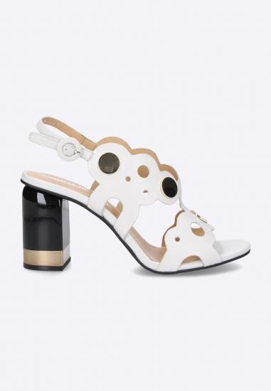 Sandały na obcasie Adele Dezotti