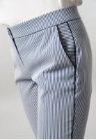 Spodnie damskie  cygaretki w paski Thilda