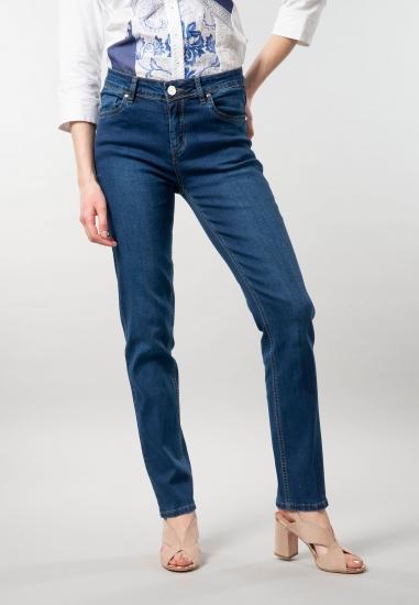 Jeansy damskie o prostym...
