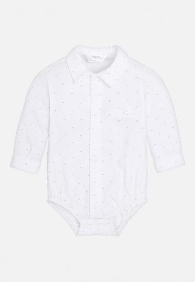 Koszulowe body dla chłopca Newborn Mayoral
