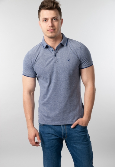 Męski t-shirt polo Wrangler...