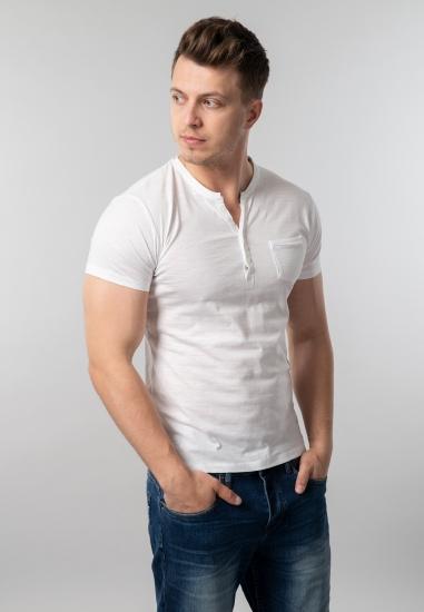 T-shirt męski basic Yes Zee...