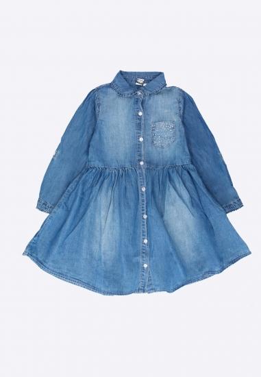 Sukienka dziewczęca jeansowa I DO - 0077350 JEANS