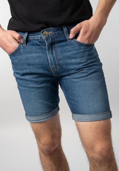Bermudy jeansowe męskie Lee