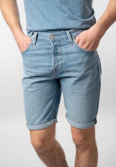 Bermudy męskie jeansowe Lee