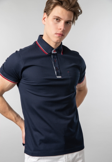 Męski t-shirt polo Exp...