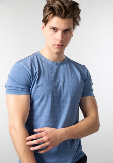 T-shirt męski basic Pioneer