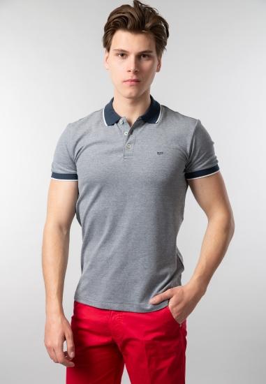 T-shirt męski polo Gas -...