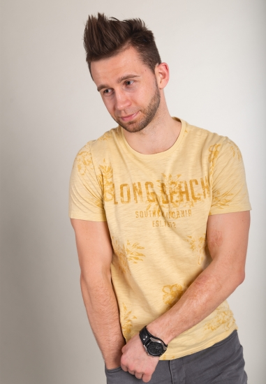 T-shirt z nadrukiem JOGGY -...