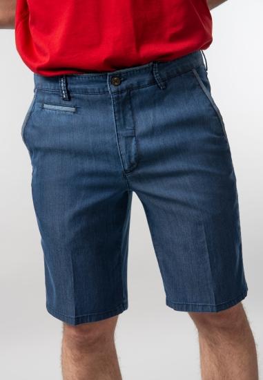 Bermudy męskie jeansowe Rotte Mediterranee