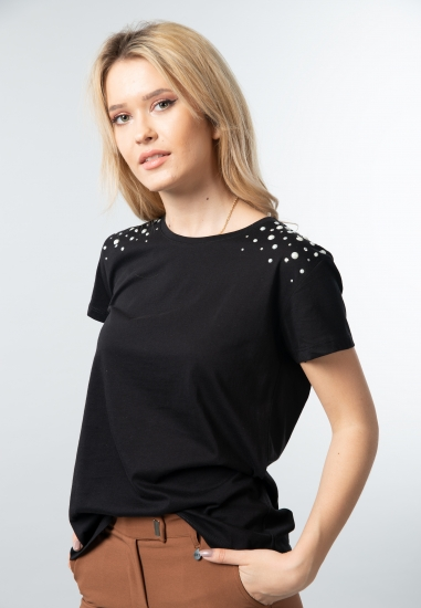 T-shirt damski z pererełkami Joggy