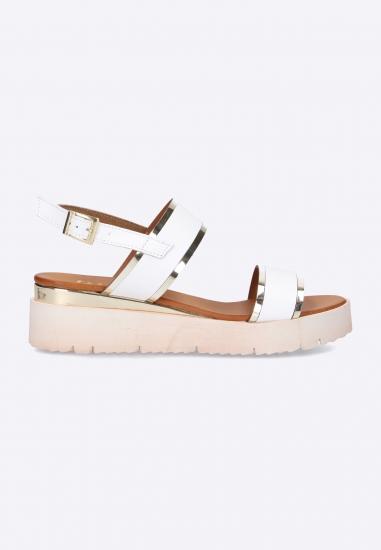 Sandały damskie na platformie Eks