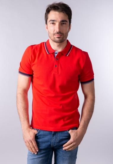 T-shirt męski polo Re Del Mare