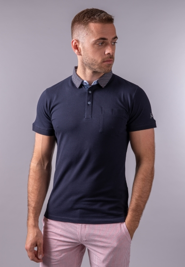 T-shirt męski polo Yes Zee