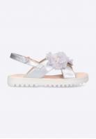 Sandały dziewczęce z kwiatuszkami Geox J S. CORALIE G. B