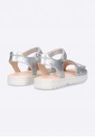 Sandały dziewczęce z brokatowym zdobieniem Geox J S CORALIE G. A