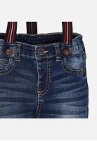 Chłopięce jeansy z szelkami Mayoral