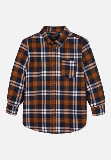 Koszula chłopięca w kratkę Mayoral