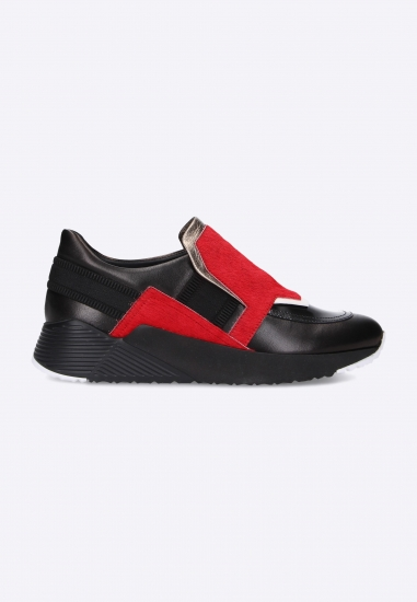Skórzane sneakersy damskie...