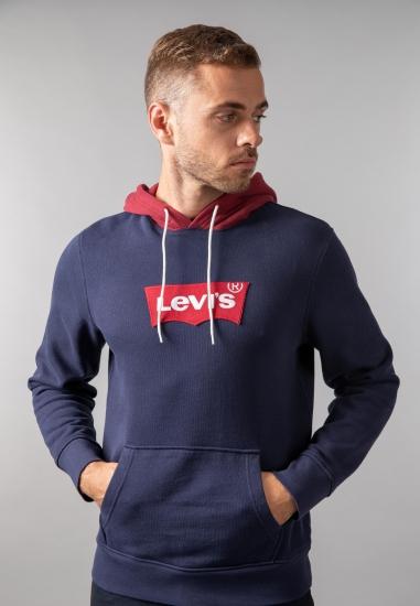 Bluza męska z kapturem i logo Levi's