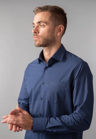 Koszula męska modern fit Pierre Cardin - 0079021 GRANAT