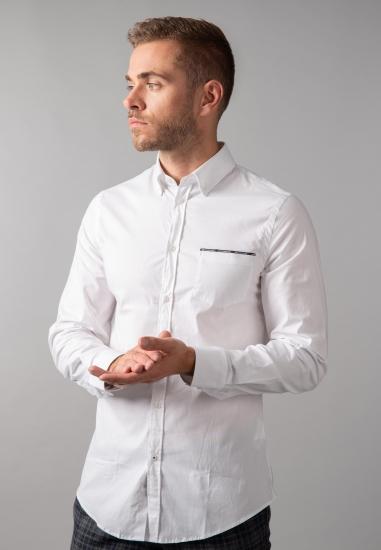 Koszula męska regular fit Trussardi Jeans