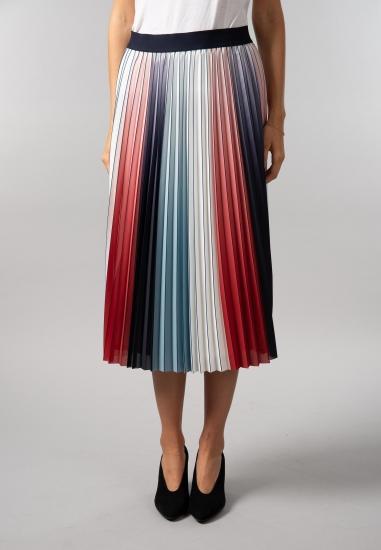 Kolorowa spódnica plisowana...