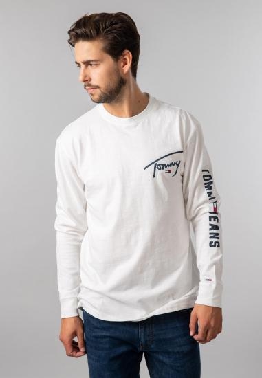 T-shirt męski z nadrukiem Tommy Jeans