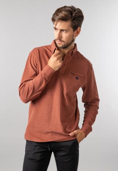 T-shirt męski polo Ascot...