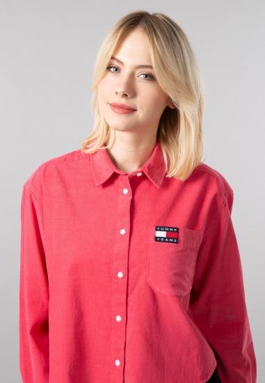 Koszula ze sztruksowej tkaniny Tommy Jeans - 008ROZ