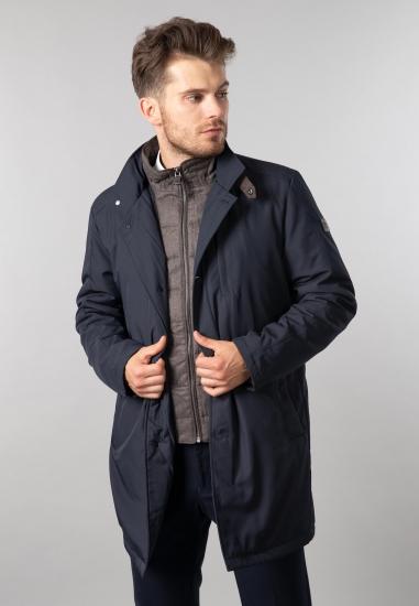 Płaszcz męski Fynch Hatton - 007637 GRANAT