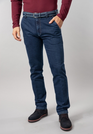 Jeansy męskie slim fit Meyer - 00718 JEANS