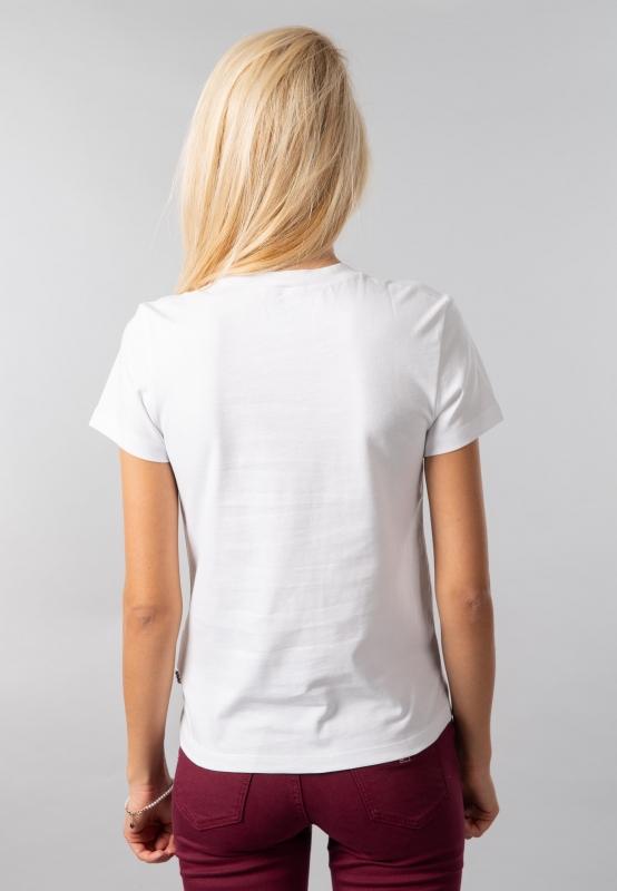 T-shirt damski z nadrukiem Vans
