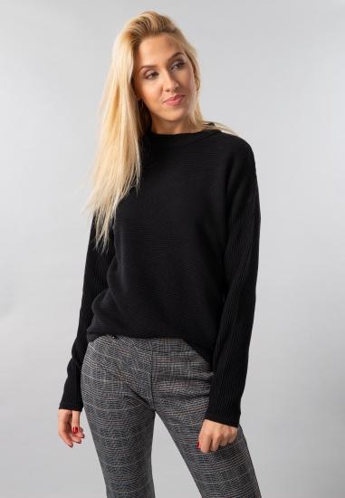 Prążkowany sweter damski Garcia Jeans