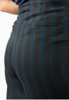 Spodnie culotte w paski Eks