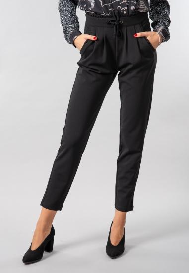 Materiałowe spodnie Jacqueline De Yong