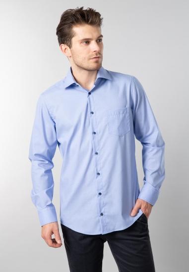 Koszula męska Redmond - 00710 NIEBIESKI