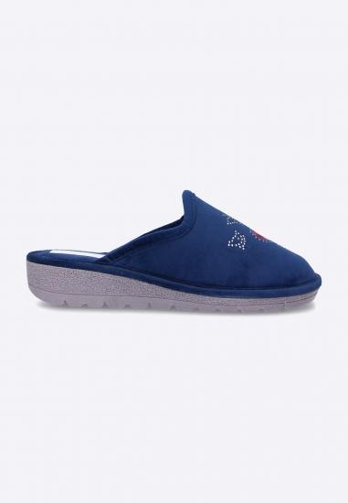 Pantofle damskie 3Rose - 007GRANAT