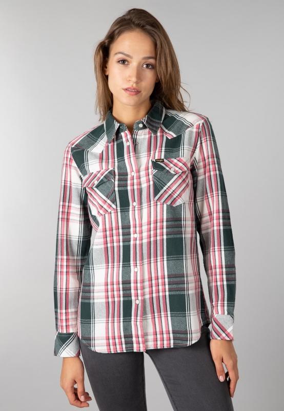 Damska koszula w kratę Wrangler