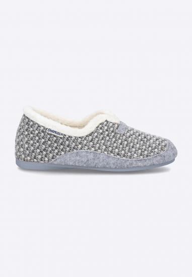 Pantofle damskie Emanuela - 003POPIEL