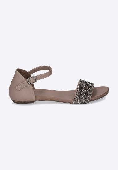 Płaskie sandały damskie...