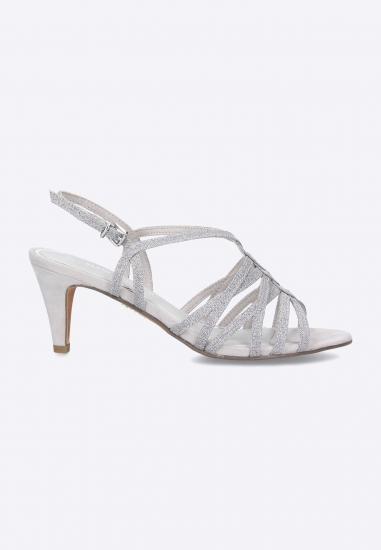 Sandały na szpilce Marco Tozzi