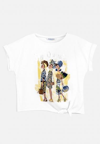 Dziewczęcy t-shirt MAYORAL