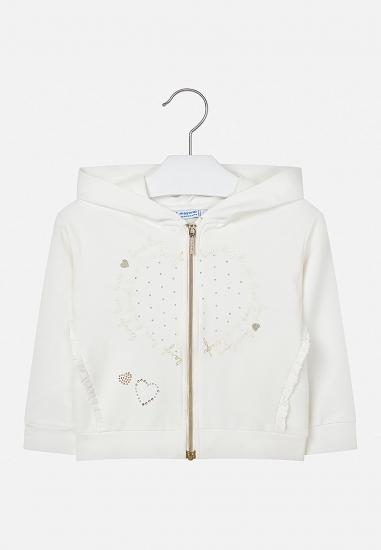 Bluza odsuwana z kapturem Mayoral