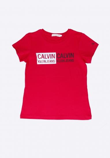 T-shirt dziewczęcy Calvin Klein Jeans