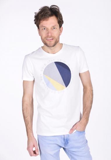 T-shirt męski Garcia