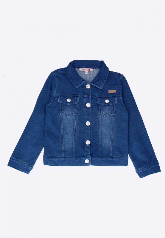 Kurtka jeansowa dla dziewczynki Boboli