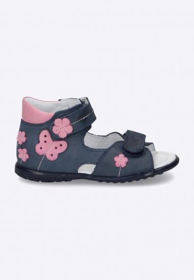Sandały dziewczęce ze...