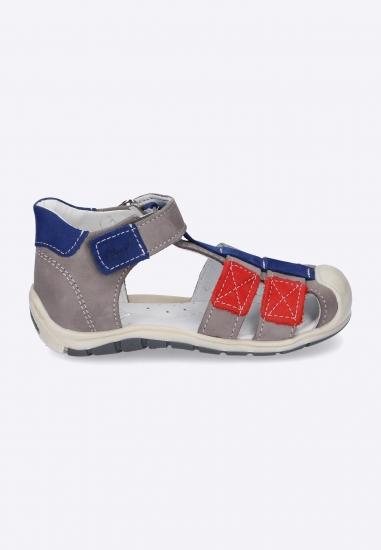 Kolorowe sandały na rzep...