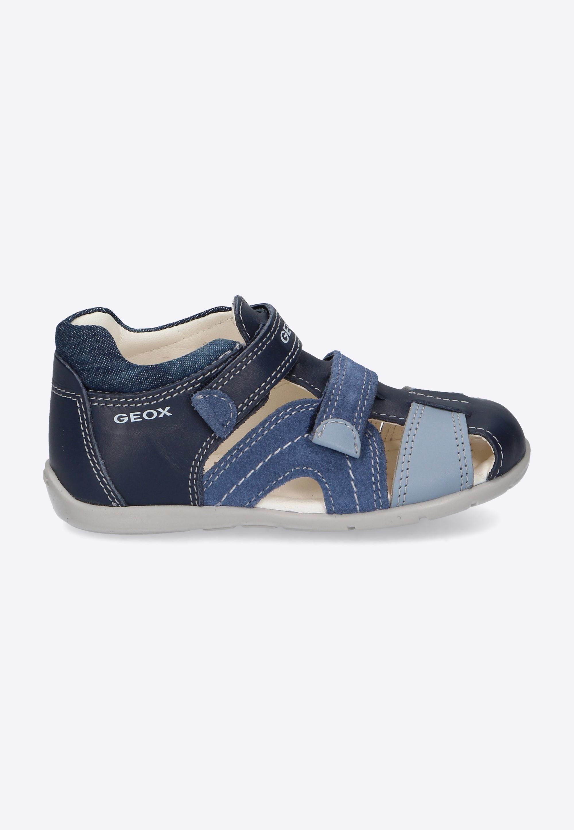 de795af45b163 Sandały chłopięce na rzepy GEOX - Nico - Odzież i Obuwie